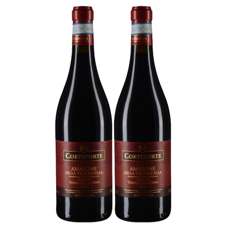 【双支套装】2008年寇福酒庄圣泽诺阿玛罗尼经典红葡萄酒