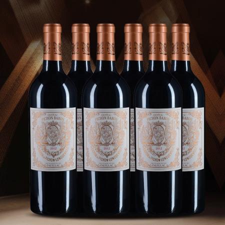【整箱6支】2012年碧尚男爵酒庄红葡萄酒