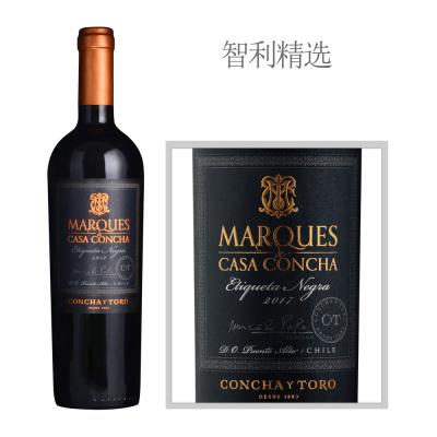 2017年干露侯爵黑标红葡萄酒