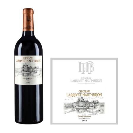 2012年拉里奥比昂酒庄红葡萄酒