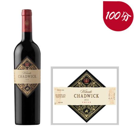 2014年查德威克红葡萄酒