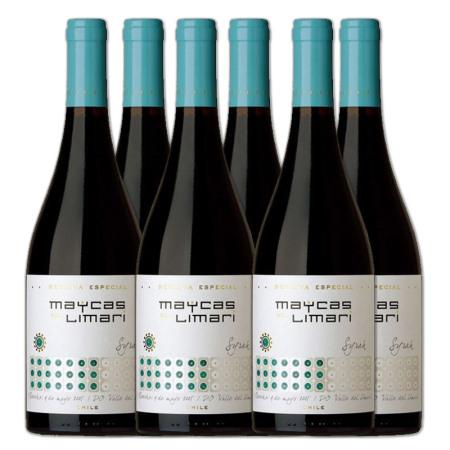 【整箱6支】麦卡斯特选珍藏西拉红葡萄酒