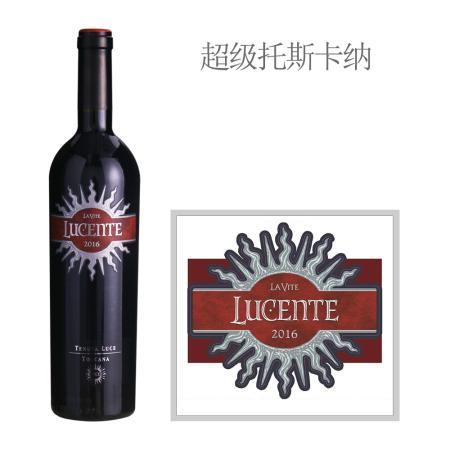 2016年麓鹊酒庄麓森红葡萄酒