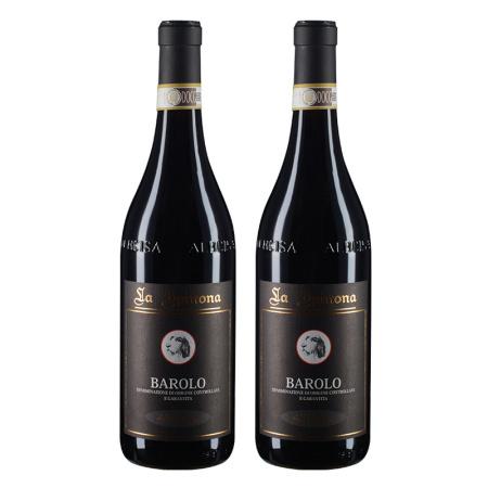 【双支套装】2008年斯派罗纳酒庄松哲潘巴罗洛红葡萄酒