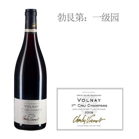2008年威洛酒园香邦(沃尔奈一级园)红葡萄酒