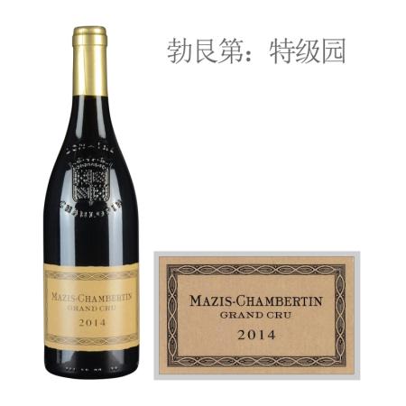 2014年夏洛普庄园(玛兹-香贝丹特级园)红葡萄酒