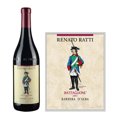 2015年雷纳拉巴特隆巴贝拉红葡萄酒
