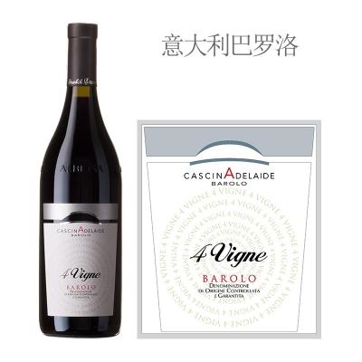 2010年卡斯纳庄园4号藤巴罗洛红葡萄酒