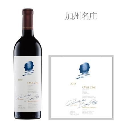 2015年作品一号红葡萄酒