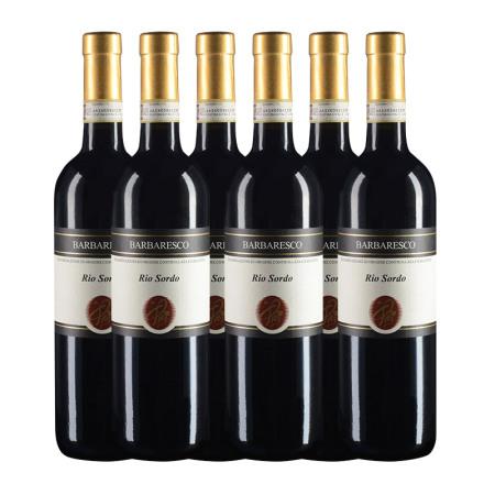 【六支套装】2010年皮埃尔酒庄瑞索多巴巴莱斯科红葡萄酒