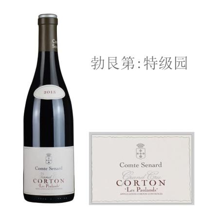 2013年塞纳伯爵酒庄博朗(科尔登特级园)红葡萄酒