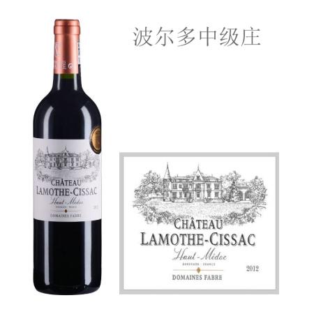 2012年拉梦莎酒庄红葡萄酒