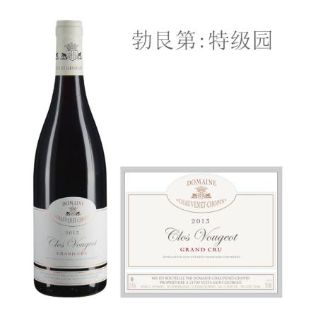2013年肖维纳酒庄(伏旧特级园)红葡萄酒