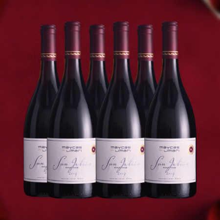 【六支套装】2014年麦卡斯圣胡安黑皮诺红葡萄酒