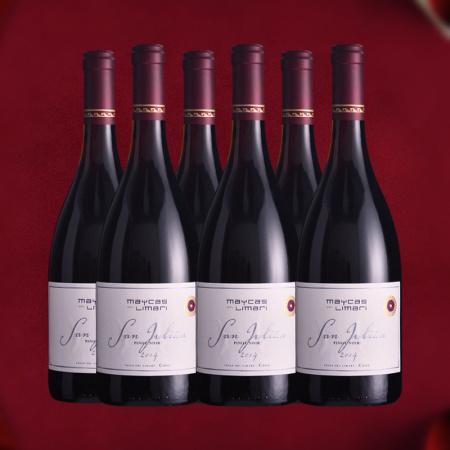 【六支套装】麦卡斯圣胡安黑皮诺红葡萄酒