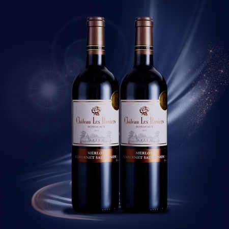 【双支套装】玫瑰城堡红葡萄酒