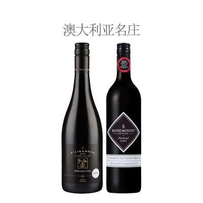 【套装2瓶】2018年歌浓酒庄设拉子干红葡萄酒(6K)·2015年若诗庄园钻石标赤霞珠红葡萄酒