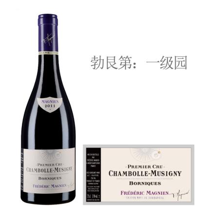 2011年马尼安博尼克(香波-慕西尼一级园)红葡萄酒