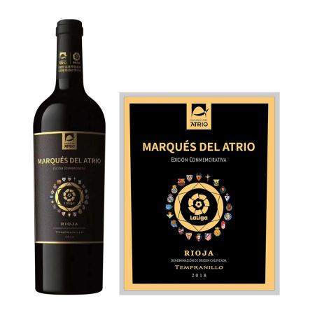2018年爱欧公爵西甲纪念版干红葡萄酒