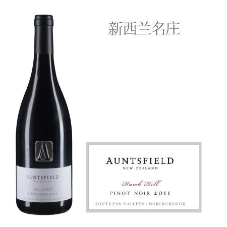 2011年爱丝菲酒庄鹰山黑皮诺红葡萄酒