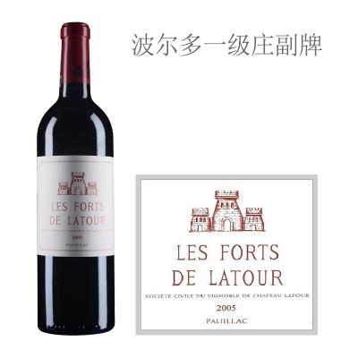2005年拉图堡垒红葡萄酒