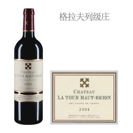 2004年拉图尔-侯伯王酒庄红葡萄酒