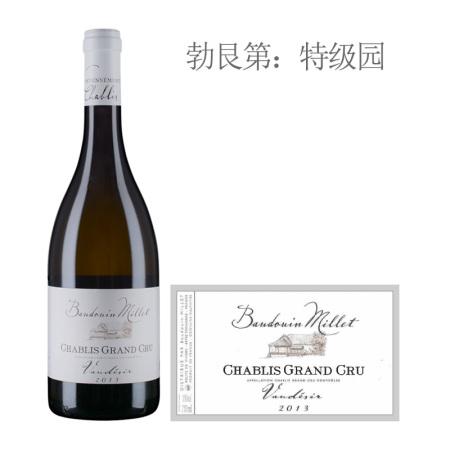 2013年米乐特福迪斯(夏布利特级园)白葡萄酒