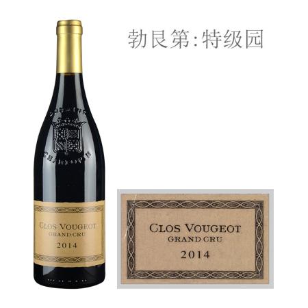 2014年夏洛普庄园(伏旧特级园)红葡萄酒
