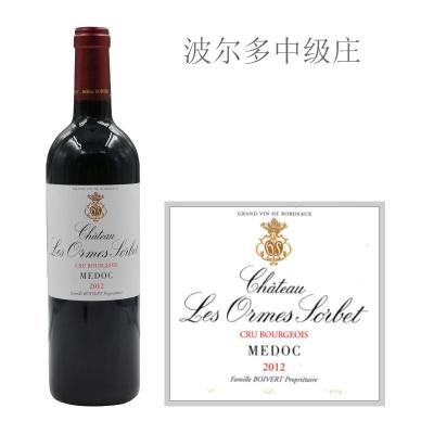 2012年奥索酒庄红葡萄酒