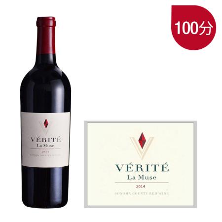 2014年真理缪斯红葡萄酒