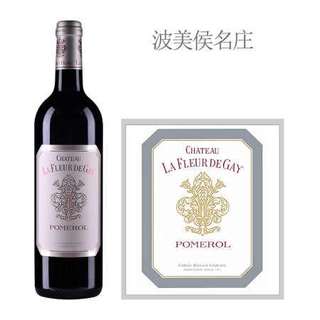 2019年盖伊之花酒庄红葡萄酒