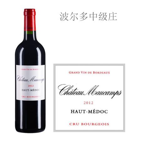 2012年墨干酒庄红葡萄酒