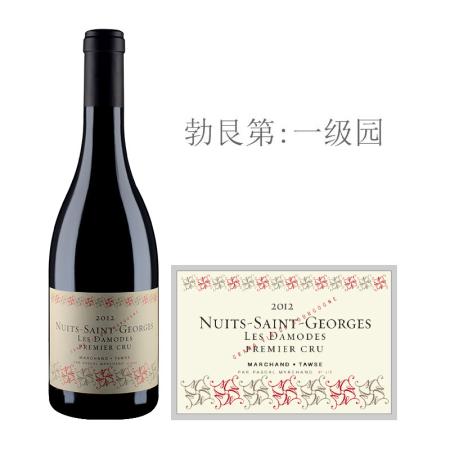 2012年图诗达摩(夜圣乔治一级园)红葡萄酒