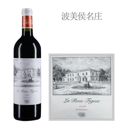 2008年飞卓玫瑰酒庄红葡萄酒