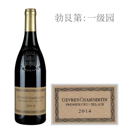 2014年夏洛普庄园贝蓝(热夫雷-香贝丹一级园)红葡萄酒