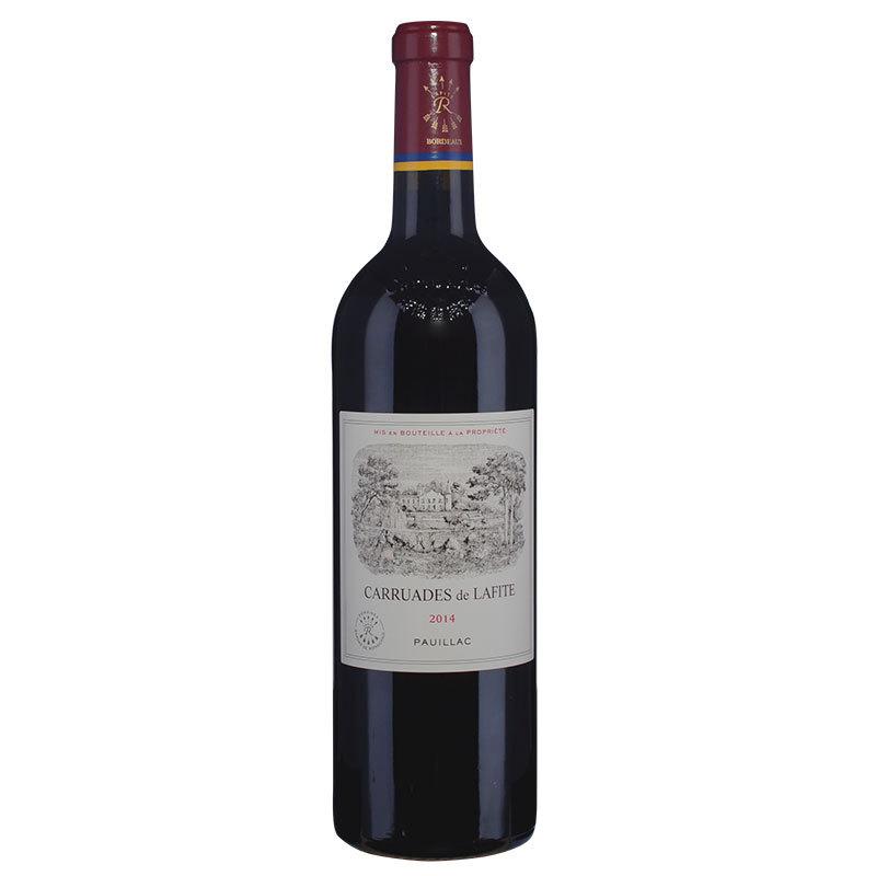 拉菲传奇波尔多2010_2014年拉菲珍宝(小拉菲)红葡萄酒(跨境售罄)|2014 Carruades de ...