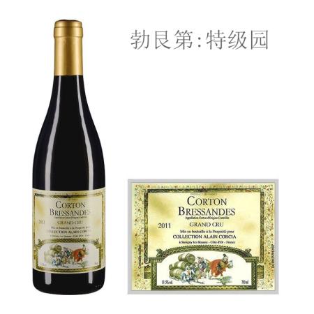 2011年科奇亚酒庄碧尔森(科尔登特级园)红葡萄酒