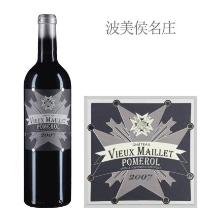 2007年老梅耶酒庄红葡萄酒