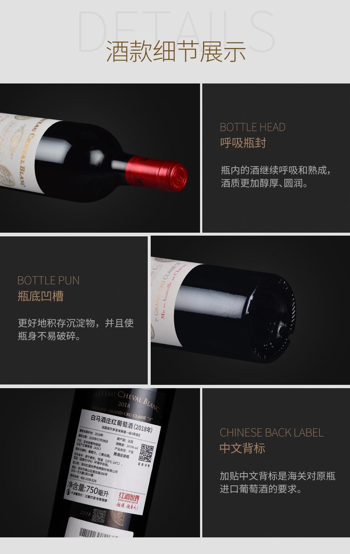 2018年白马酒庄红葡萄酒