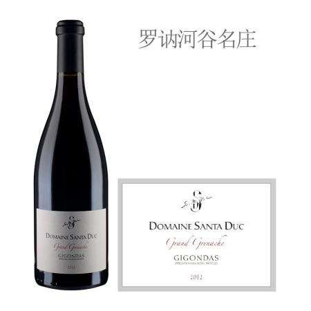 2012年圣杜卡酒庄歌海娜红葡萄酒