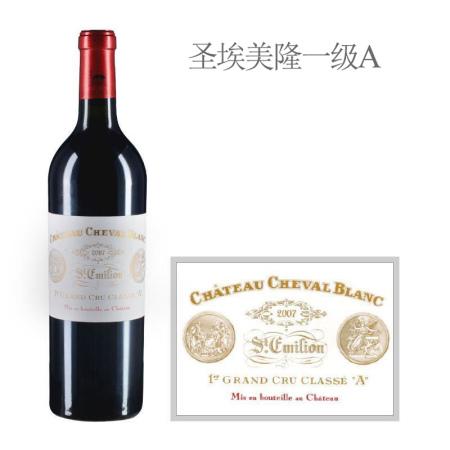 2007年白马酒庄红葡萄酒