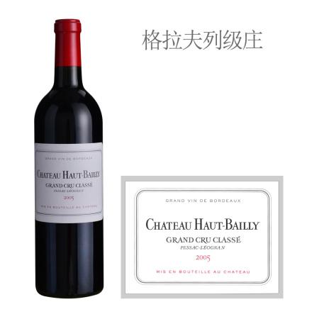 2005年高柏丽酒庄红葡萄酒
