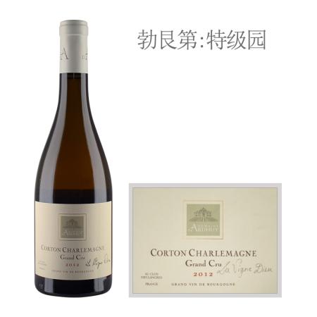 2012年达哈瑞酒庄(科尔登-查理曼特级园)圣藤白葡萄酒