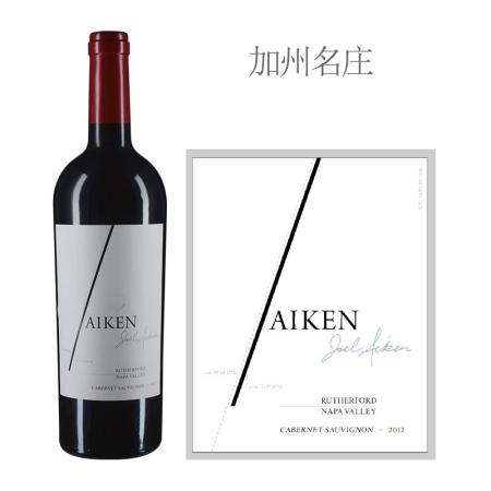 2012年艾肯卢瑟福赤霞珠红葡萄酒