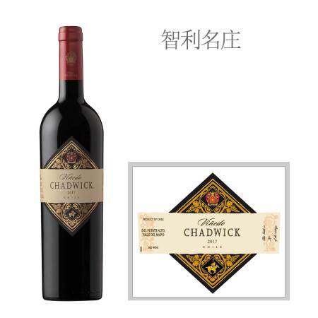 2017年查德威克红葡萄酒