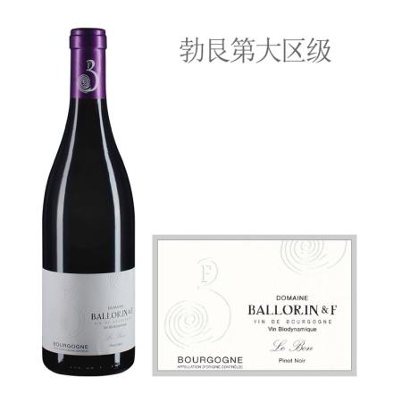 2014年巴洛霖父子酒庄里鹏红葡萄酒