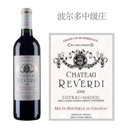 2008年莱温迪酒庄红葡萄酒