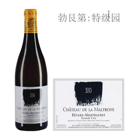 2013年蒙特涅庄园(巴塔-蒙哈榭特级园)白葡萄酒