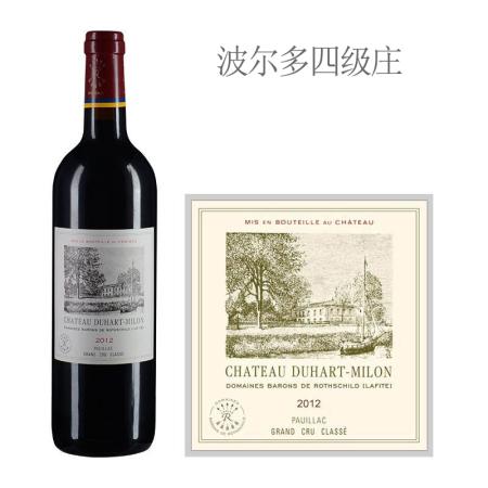 2012年杜哈米隆古堡红葡萄酒
