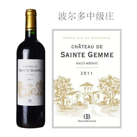 2011年圣伽美城堡红葡萄酒